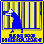 Sliding Door Roller Replacement